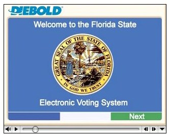 Voting - powered by Diebold